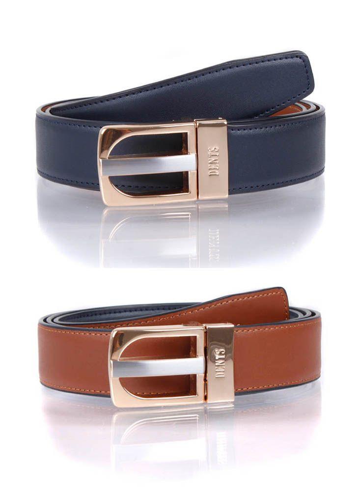 Dents Reversible Leather Belt-0