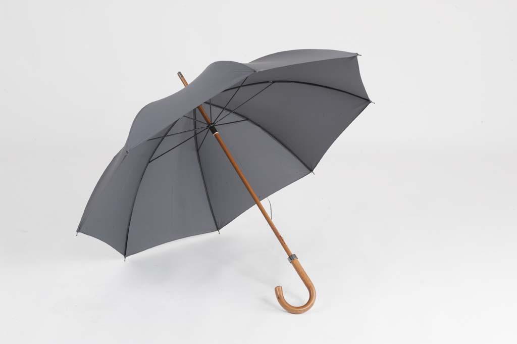 Ince & Sons Gentlemans Wooden Shaft Umbrella-0