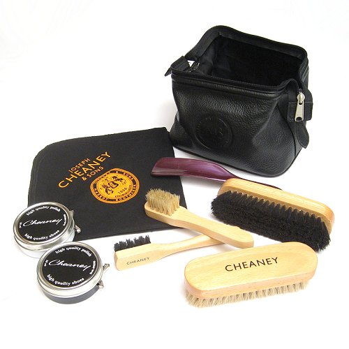 Joseph Cheaney Travel Pack Shoe Care Kit-0
