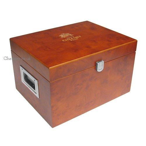 Joseph Cheaney Premium Wooden Valet Shoe Care Box-1195