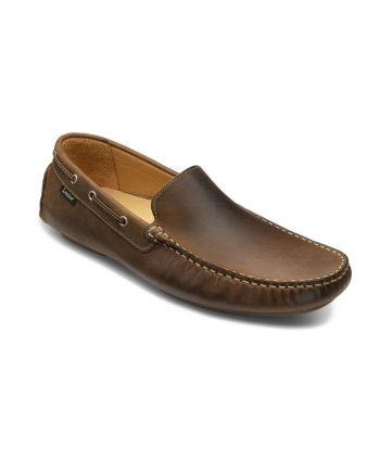 Loake Donington Brown Oiled Nubuck