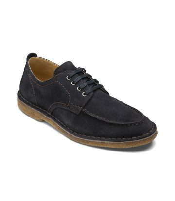 Loake Jimmy Navy Suede