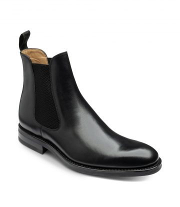 Loake Buscot Men's Chelsea Boots Black